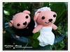 粉紅狗狗.婚禮娃娃7