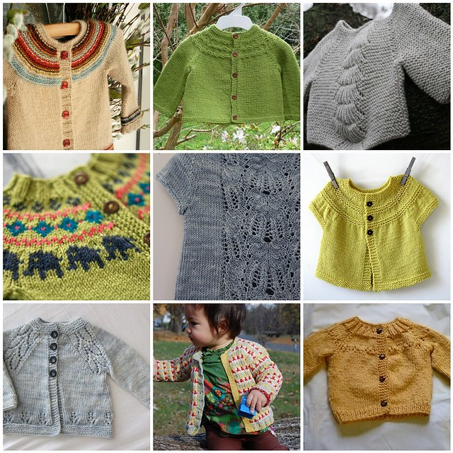 Baby knits Inspiration
