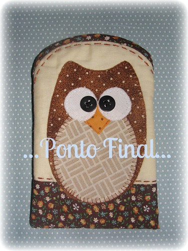 ...Capinha para Iphone, Ipod ,etc... by Ponto Final - Patchwork