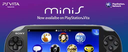minis available on PlayStation Vita