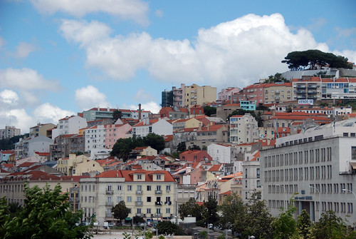 View from Lisbon hotel room #2