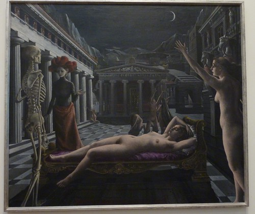 Sleeping Venus by Paul Delvaux