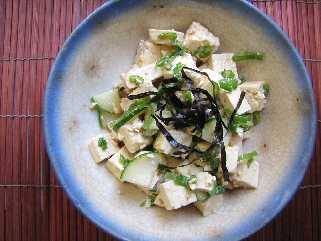 japanese silken tofu salad