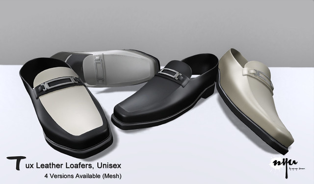 NYU - Tux Leather Loafers (Mesh)