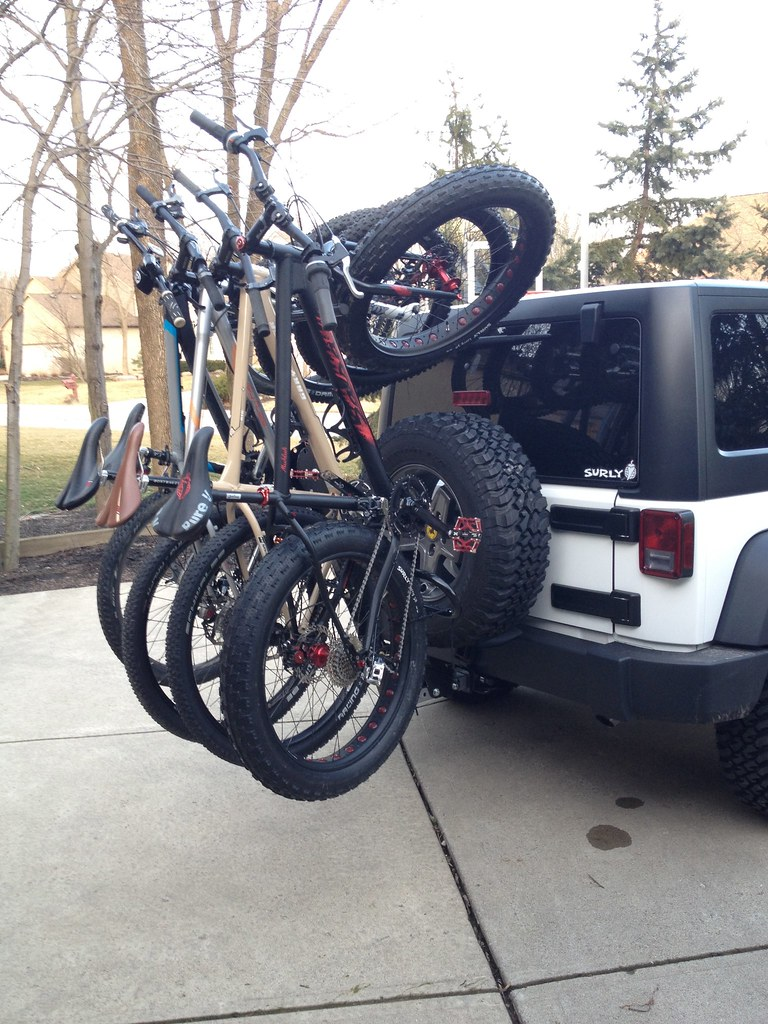 Transporting Bikes In A Jeep Mtbr Com