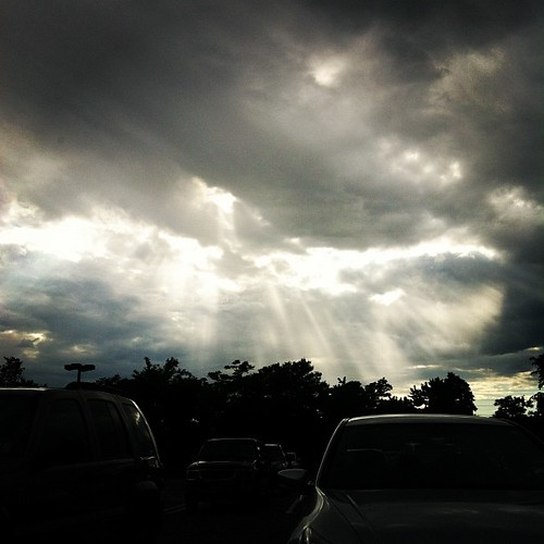 Wacky skies.