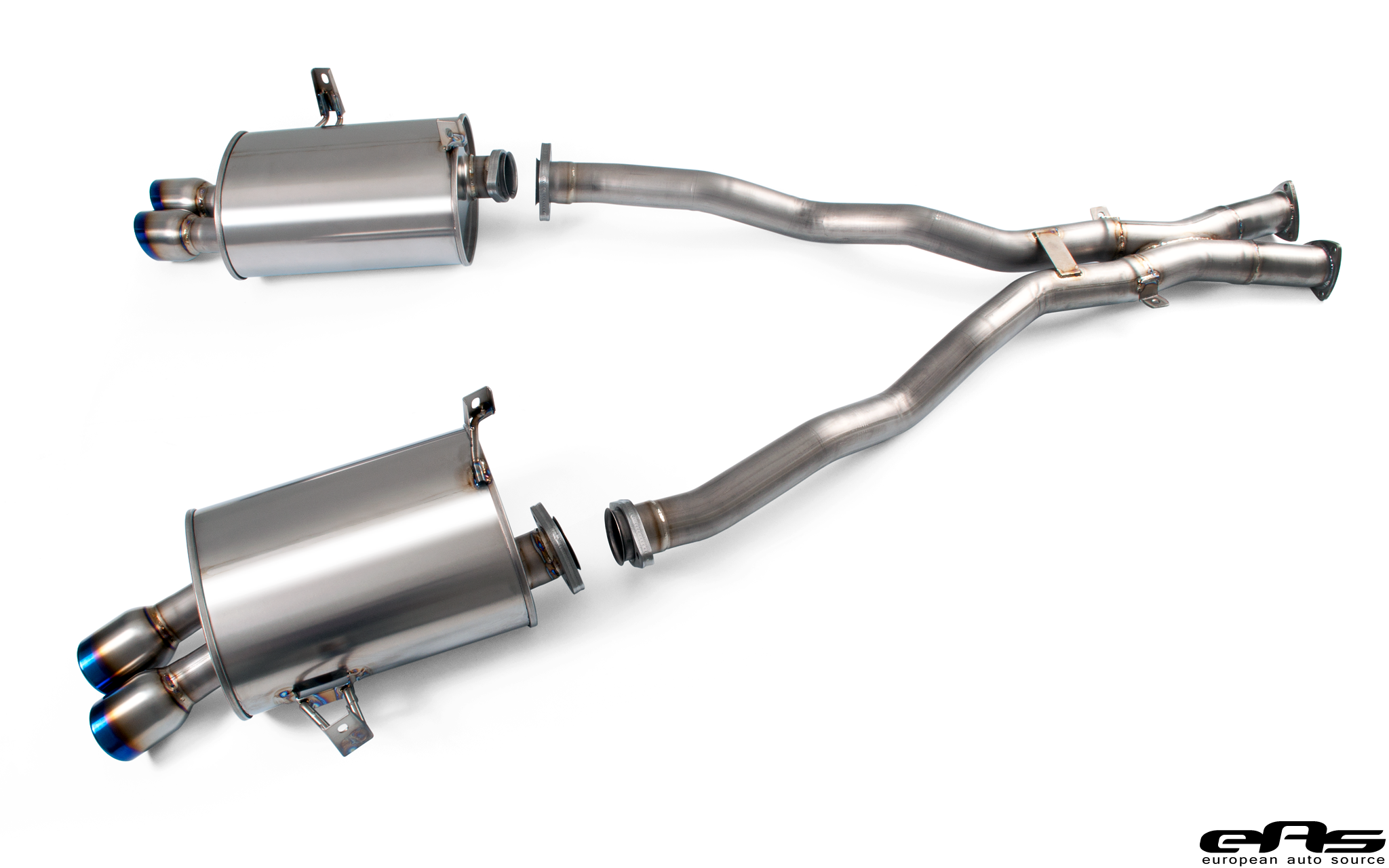 Arqray Titanium Exhaust Installed On Our Z4m Bmw