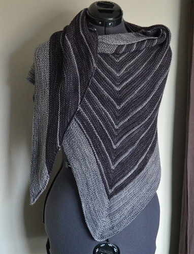 Stripe Study Shawl