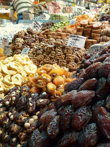 Dried fruits in the Spice Market