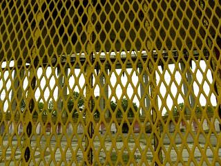 Image of New York State Pavillion. park nyc newyorkcity sculpture usa newyork architecture flushingmeadows queens publicart 1960s philipjohnson worldsfair greatgatsby coronapark newyorkstatepavillion