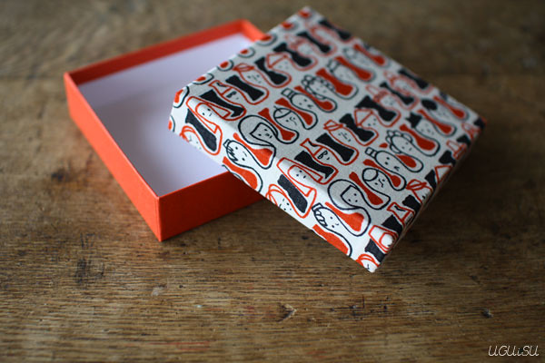 yonagadou fabric-topped box