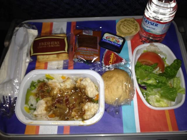 Dinner 2 -  AA0236 JFK - FCO