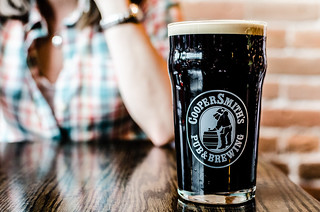 CooperSmith's Pub & Brewing Horsetooth Stout on Nitro