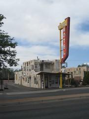 Route 66 (former) historic Aztec Motel in Albuquerque, New Mexico