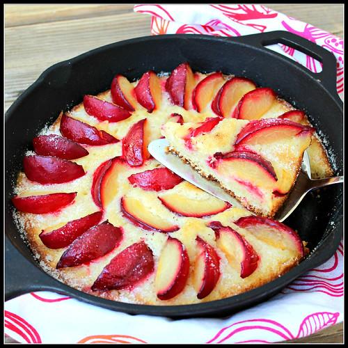 plum skillet cake plum skillet cake fruit skillet cake cardamom plum ...