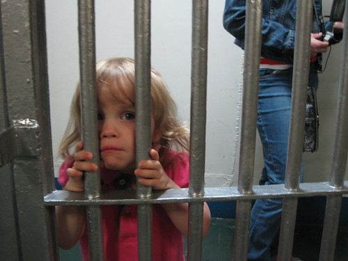Baby in the Midway Jail