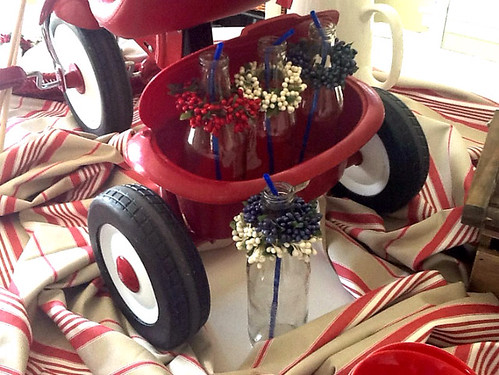 Fourth Of July Tablescape Ideas And Centerpiece Wednesday