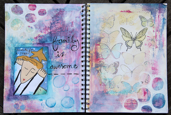 Art Journal Page #2