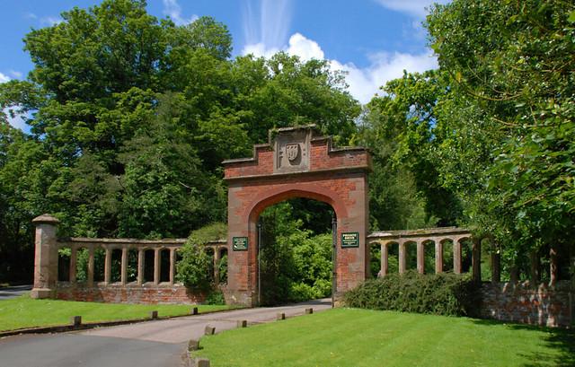 Westwood Park Worcestershire An Impressive Gateway At