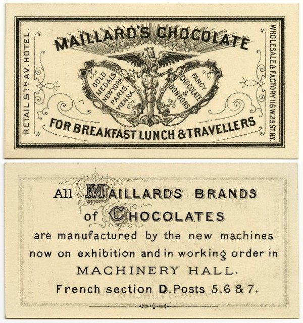Maillard's Chocolate for Breakfast, Lunch, and Travellers