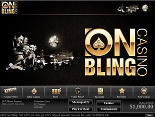 Onbling Casino Lobby
