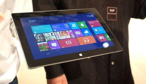 Microsoft Surface, ir vėl Windows tablet PC...