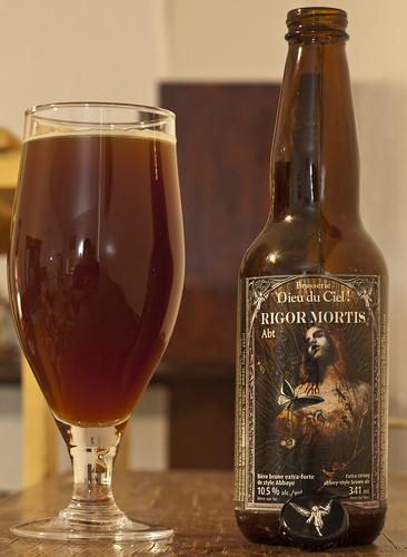 Review: Dieu du Ciel Rigor Mortis ABT Abbaye (Quad) by Cody La Bière