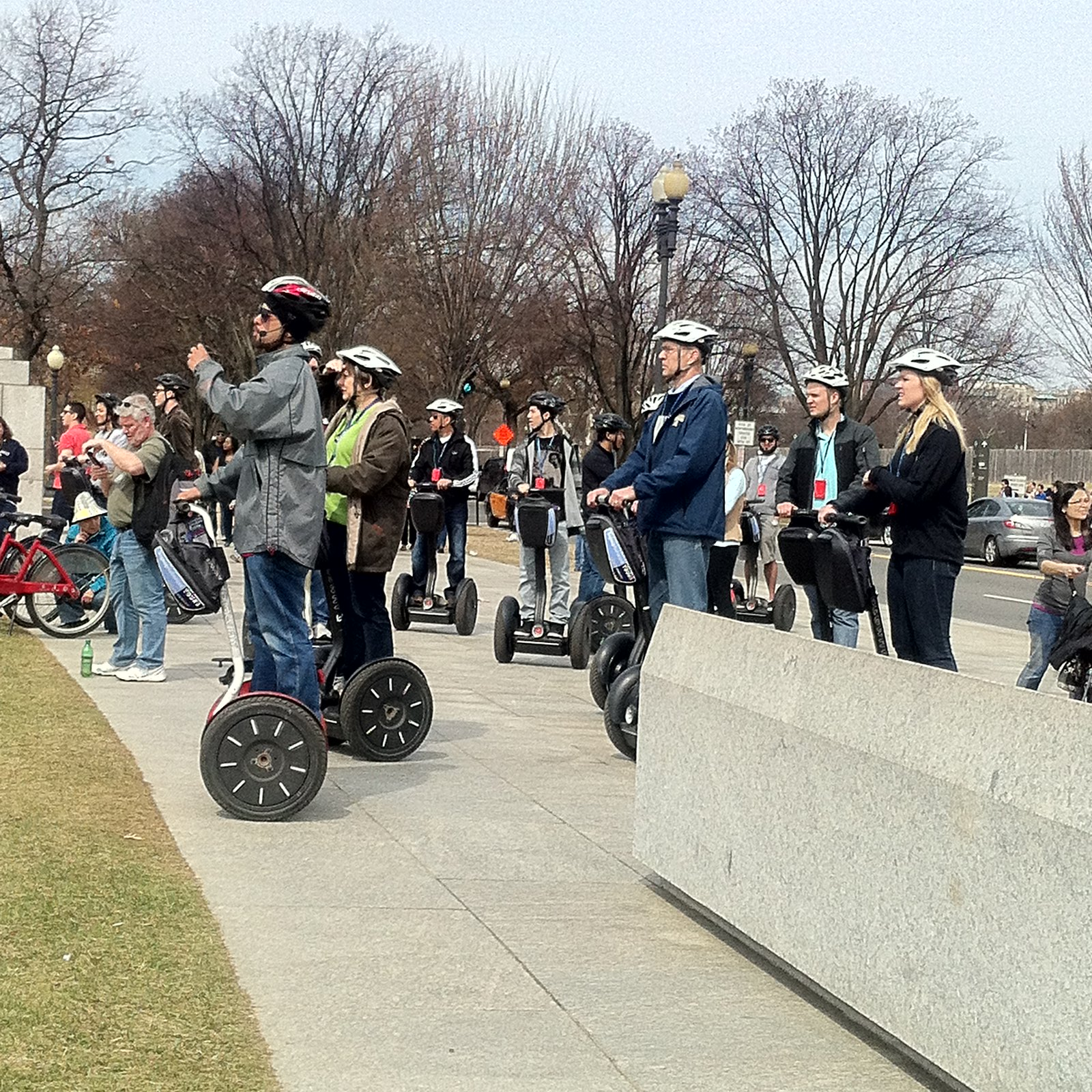 Segway tours on the National Mall = annoying!