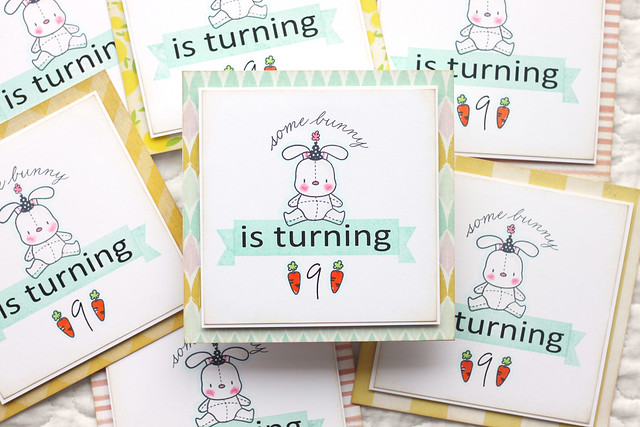 bunny party invites