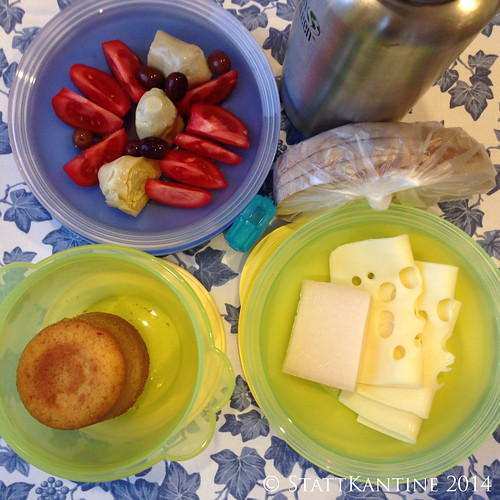 StattKantine 24.04.14 - Käse, Tomaten, Sandkuchen