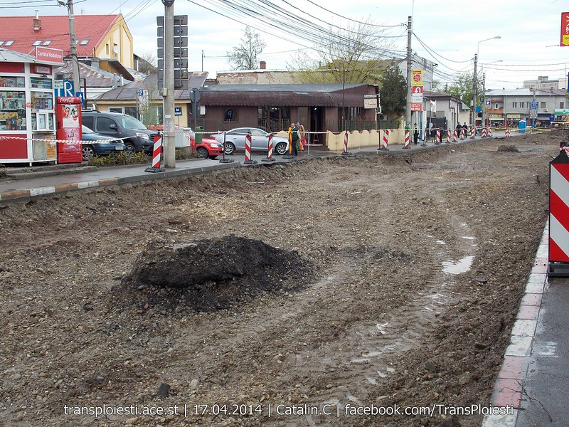 Traseul 101, etapa II: Intersecție Candiano Popescu ( zona BCR ) - Gara de Sud 13915713095_eeb2ef54d6_c