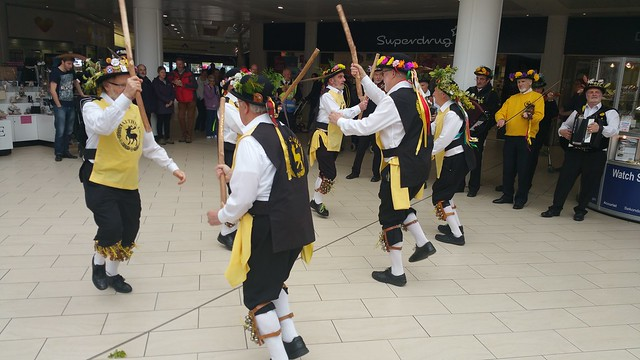 Harthill Morris & Three Shires May Day Tour 2016