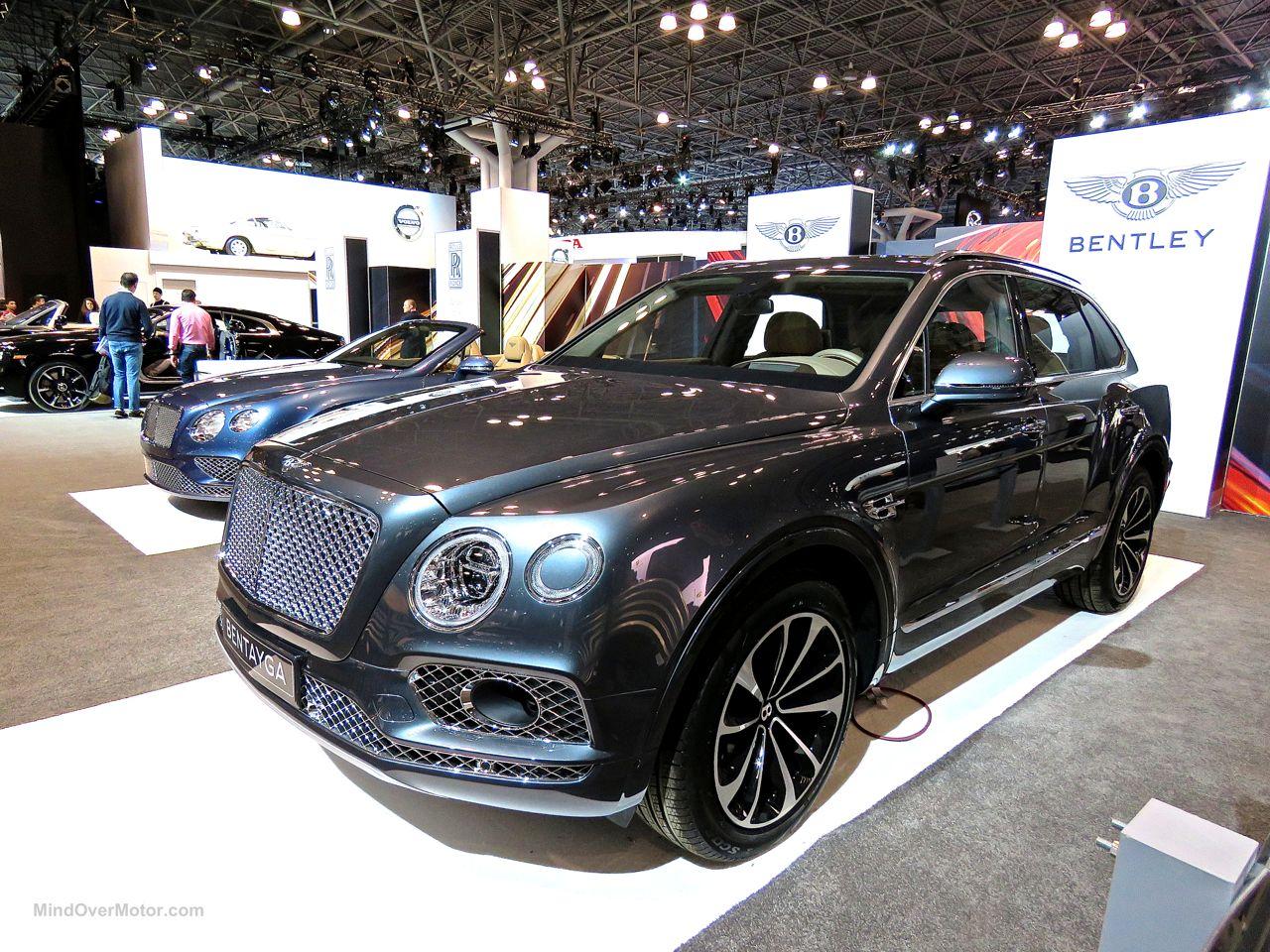 Bentley Bentayga NYIAS 2016