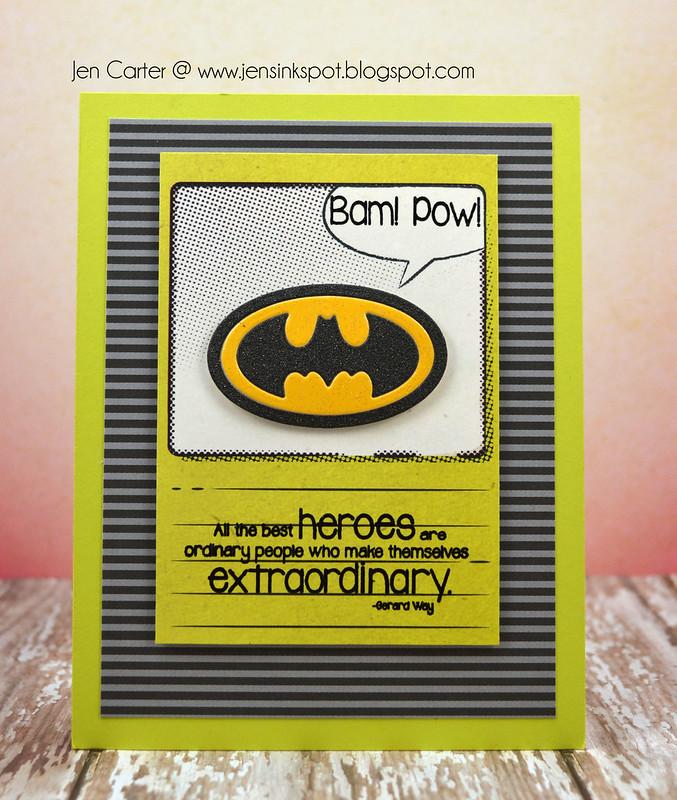 Jen Carter Heroic Batman Front