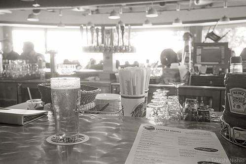 wait my lunch at bar