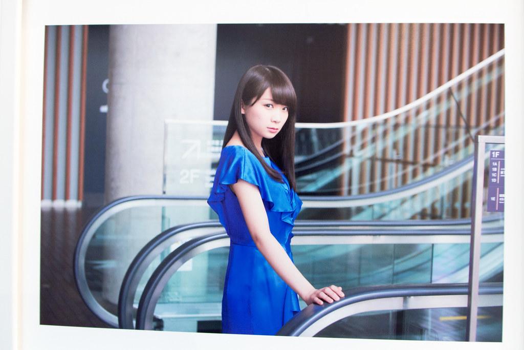 """Nogizaka46 2nd Album """"Sorezore no Isu"""" Promotional Event """"Nogiten"""" at Shibuya Tsutaya: Akimoto Manatsu"""