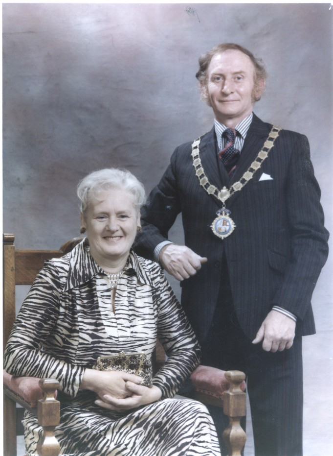 J.J. McAnaney - Crowle Mayor 1975 - 76