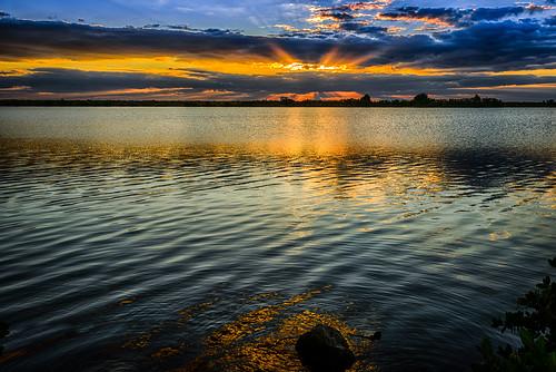 usa buildingandarchitecture sunrise dawn river fall reflection landscape sky centralflorida water merrittislandnationalwildliferefuge swamp florida minwr marsh titusville
