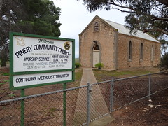 Pinery. The Methodist Church built in 1880. Now a Community Church.