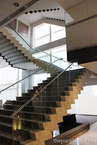 Acacia Hotel Manila Stairs