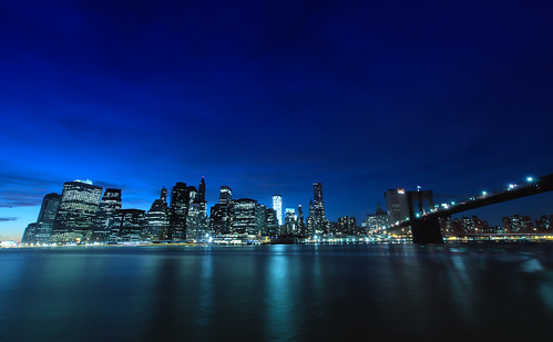 Another Nightview of Lower Manhattan [I like blue tone..]