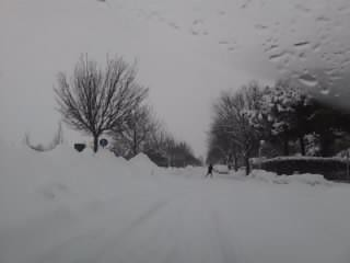 Nevicata a Ravenna 2012 by meteomike