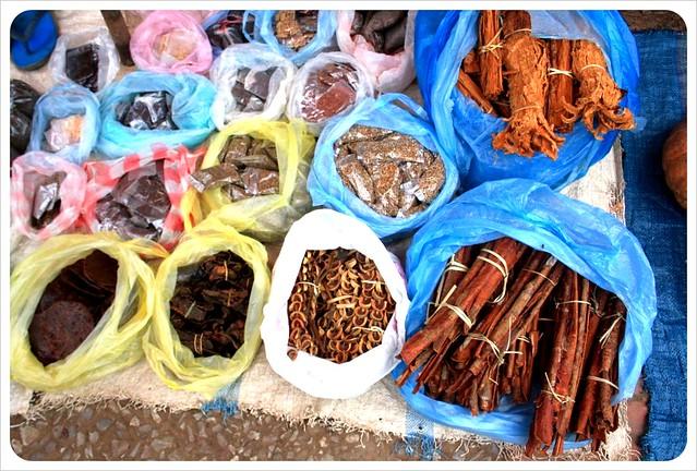 luang prabang morning market stuff from the woods