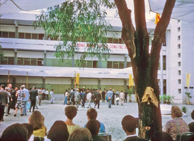 Saigon 1971 - Lễ khánh thành Trường Công tác Xã hội, số 33 đường Vĩnh Viễn