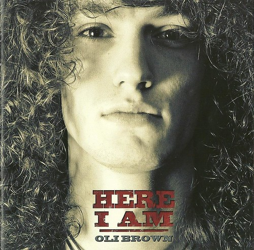 Oli Brown Here I Am CD Cover