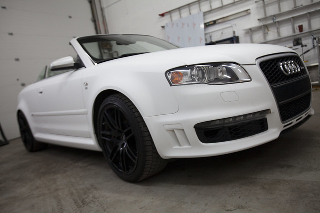 Audi Rs4 Matte White 3m Flickr Photo Sharing