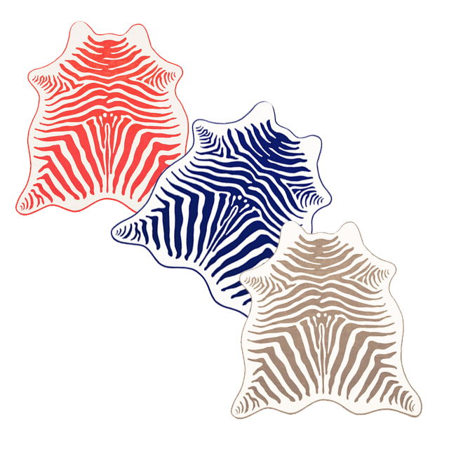 zebra hide beach towels