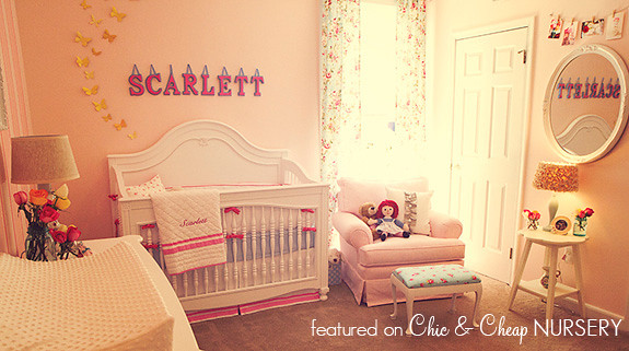 Scarlett's Vintage Teacup-Inspired Nursery