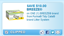 Tidy Cats Litter System Coupon
