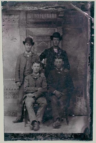 Tintype quartet